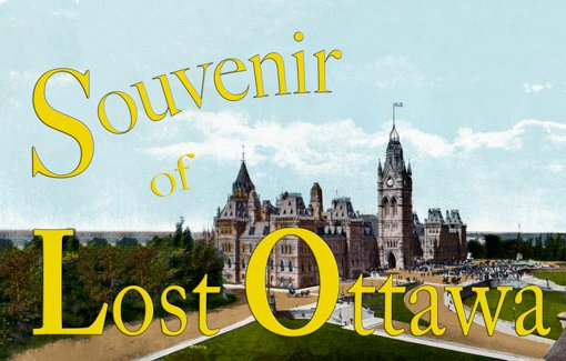 Cover for Souvenir of Ottawa Book