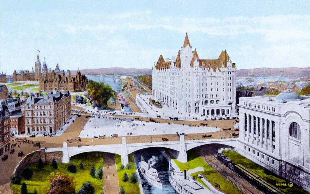 The Centre of Ottawa Imagined, circa 1910