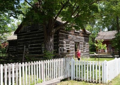 Log house at Upper Canada Village