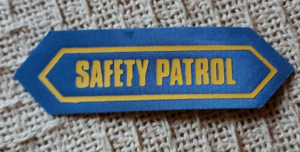 Safety Patrol Patch