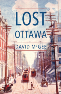 Front Cover -- Lost Ottawa Book One