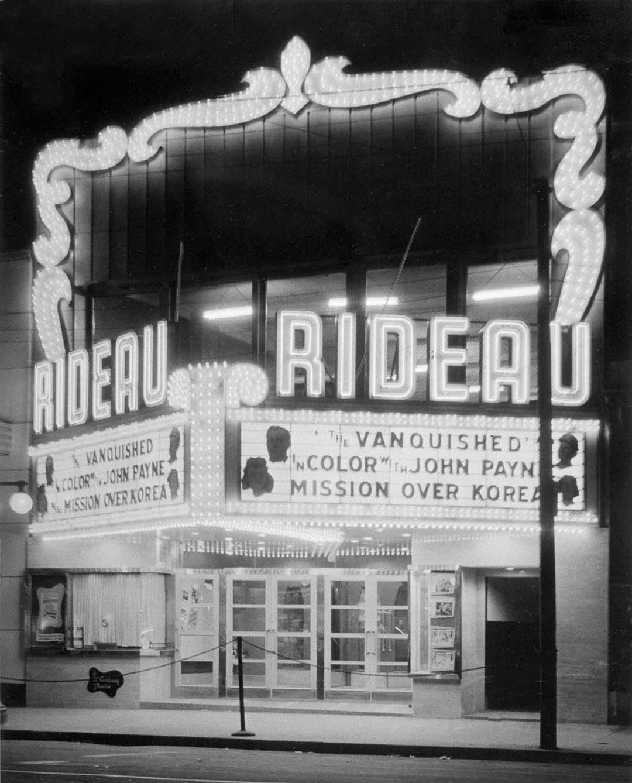 Marquee Rideau Theatre