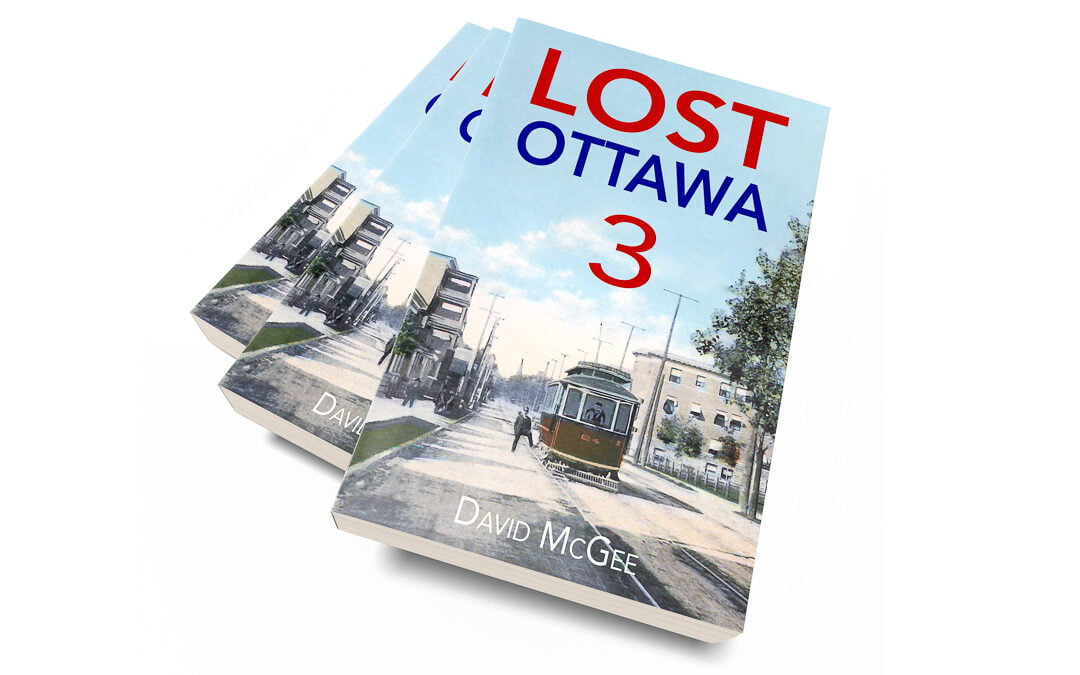Covers of Lost Ottawa 3