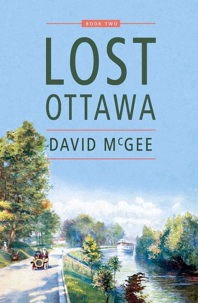 Here's the cover of Lost Ottawa - Book Two, available online and in stores.