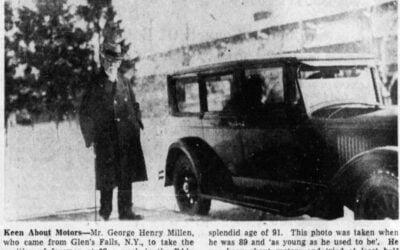 George Millen's Steamer – Ottawa's Second Automobile
